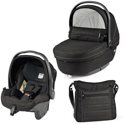 Модульная система 3 в 1 Peg-Perego Set SL+прогулочный блок Pop-Up Sportivo Mod Black
