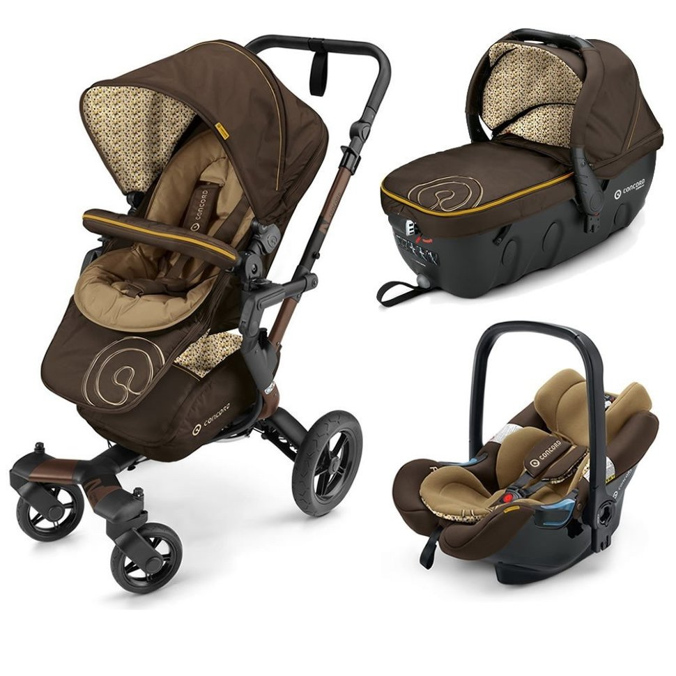 Коляска Concord Neo Travel Set 3 в 1 Walnut Brown 2016