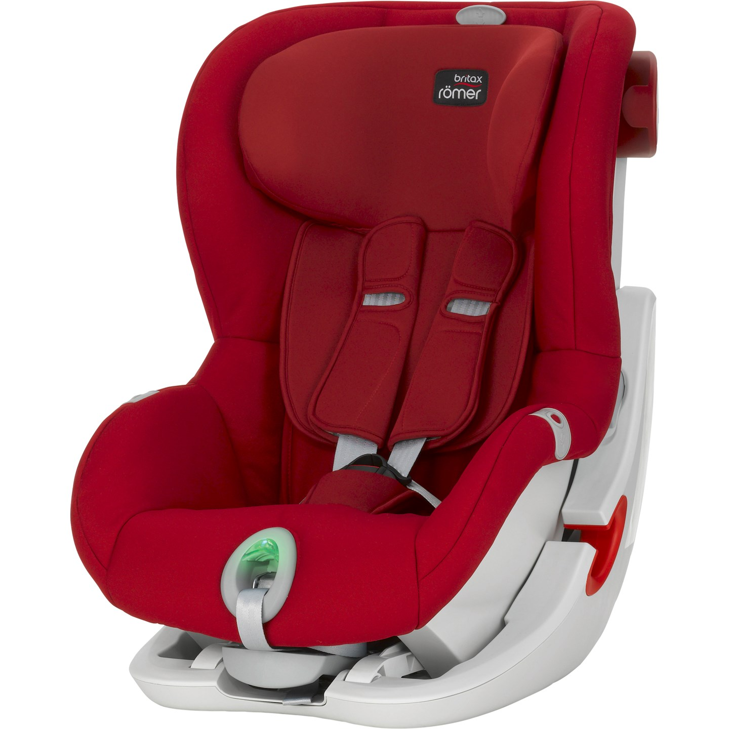 Автокресло Britax Roemer King II ATS Flame Red Trendline