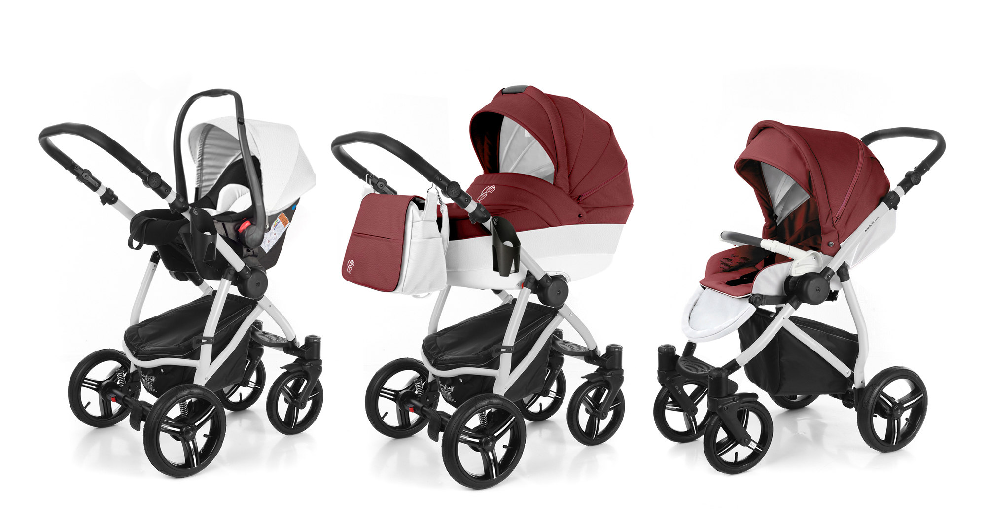 Коляска 3 в 1 Esspero Grand Newborn Lux (шасси Grey). Фото N7
