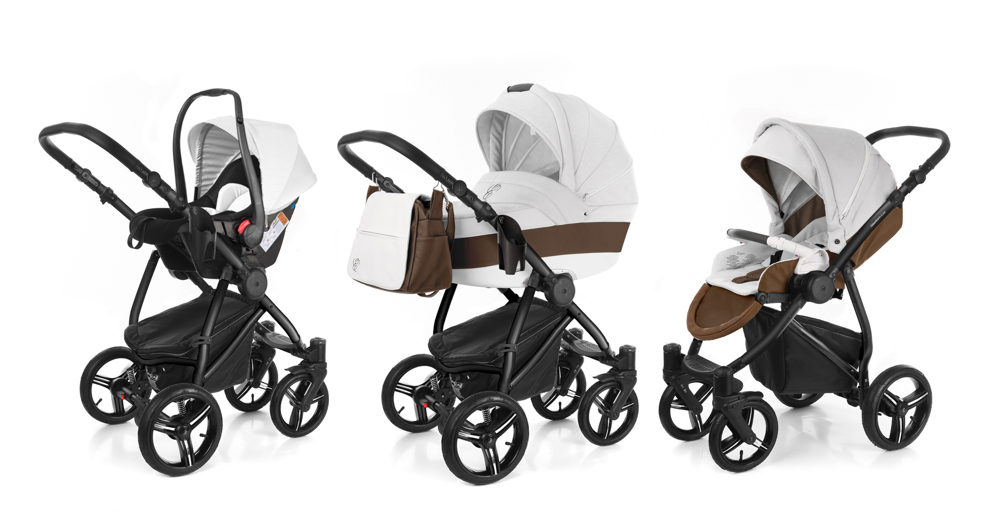 Коляска 3 в 1 Esspero Grand Newborn Lux (шасси Black). Фото N7
