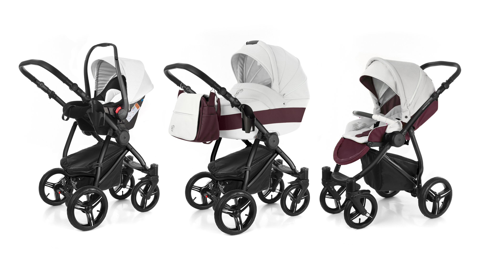 Коляска 3 в 1 Esspero Grand Newborn Lux (шасси Black). Фото N5