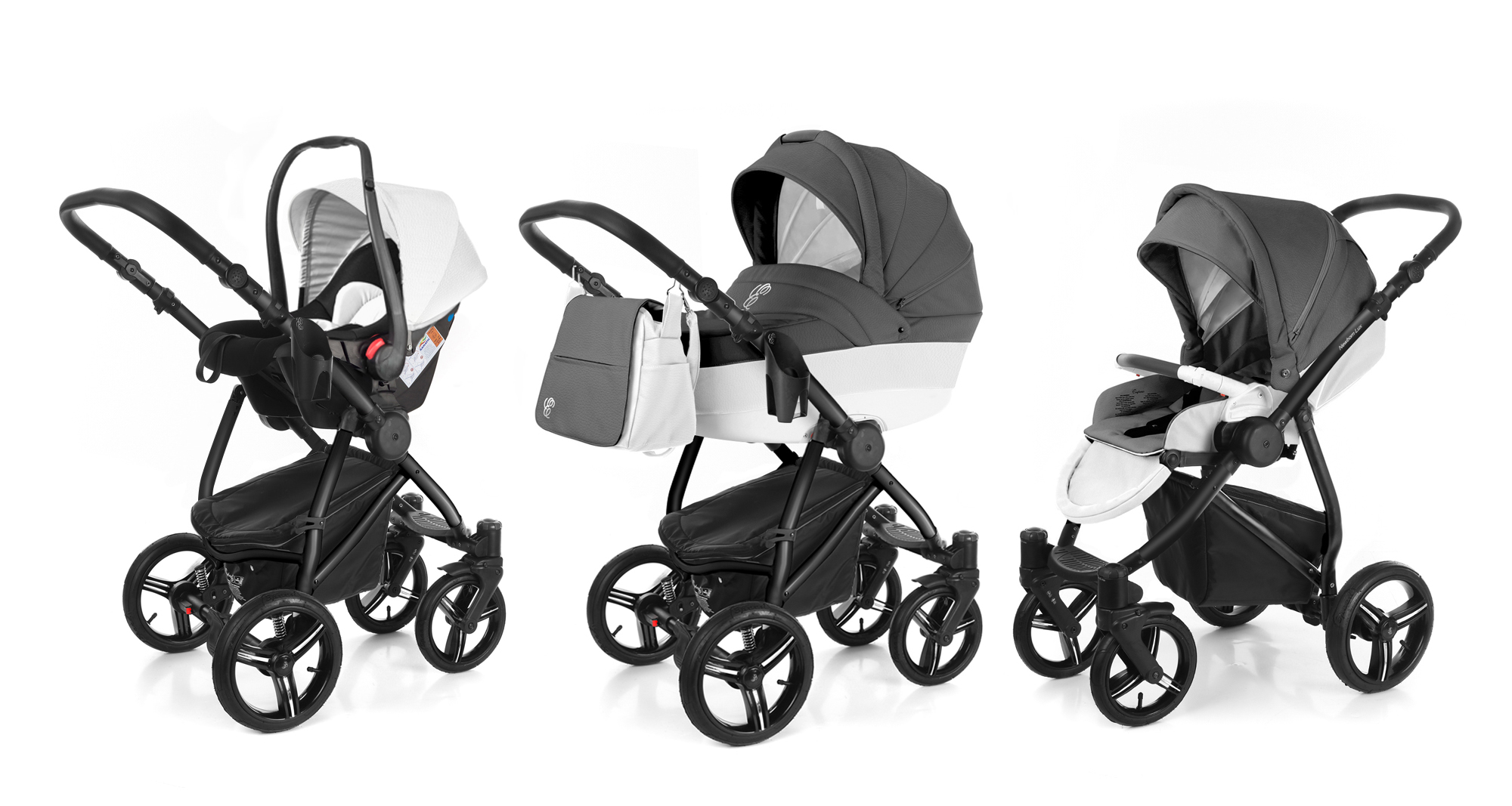 Коляска 3 в 1 Esspero Grand Newborn Lux (шасси Black). Фото N6