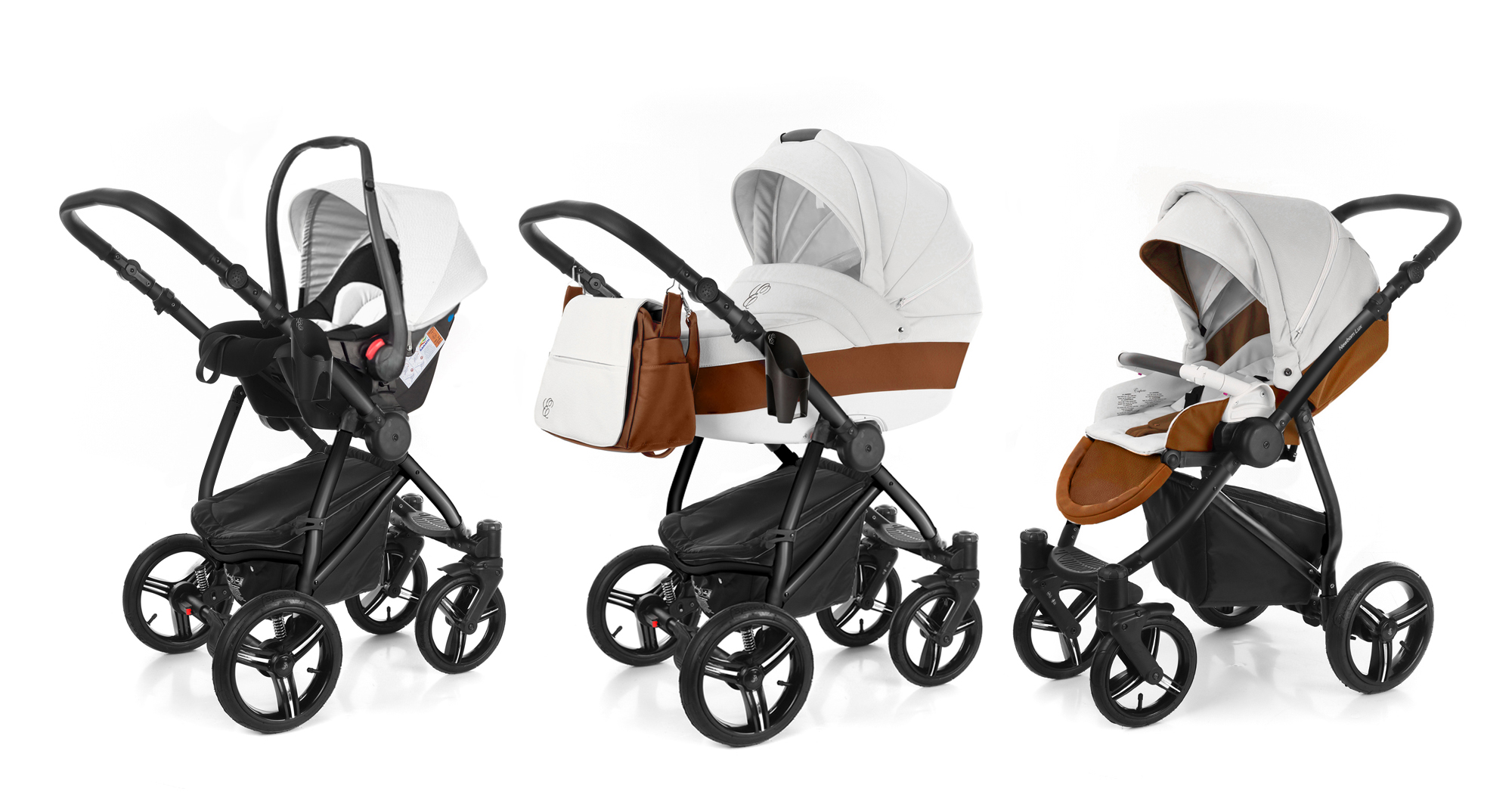 Коляска 3 в 1 Esspero Grand Newborn Lux (шасси Black). Фото N3