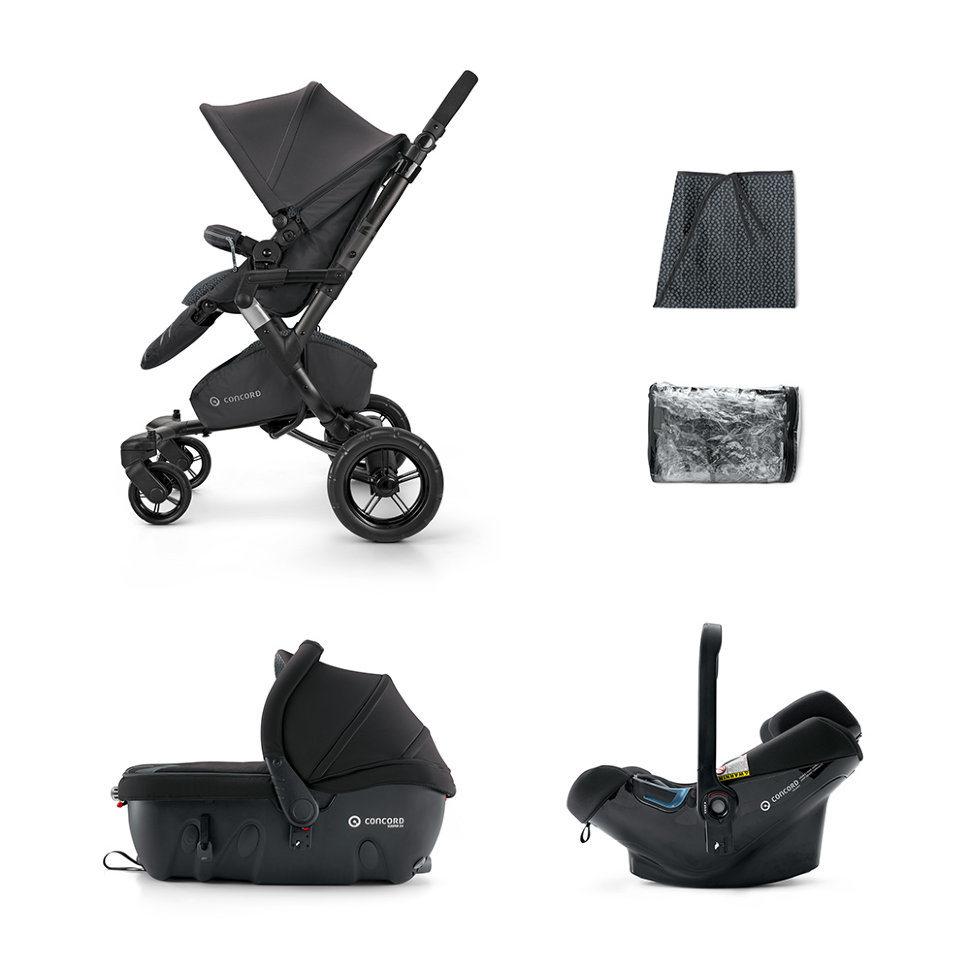 Коляска Concord Neo Travel Set 3 в 1 Raven Black 2015