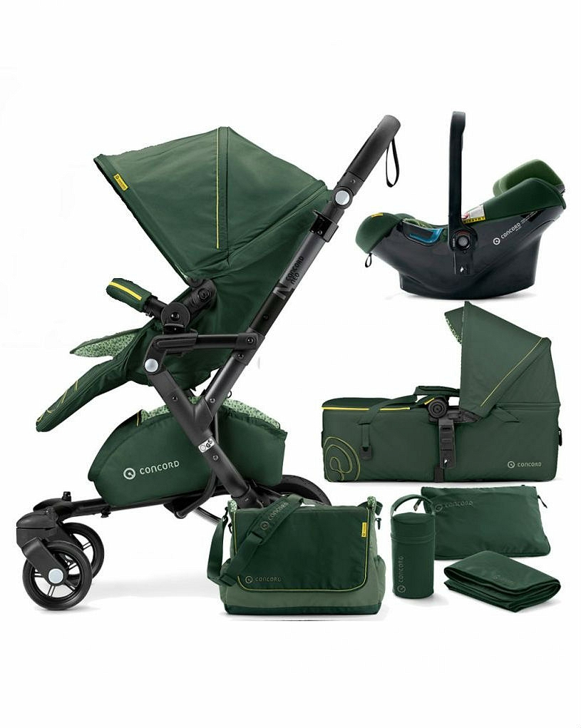 Коляска Concord Neo Travel Set 3 в 1 Jungle Green