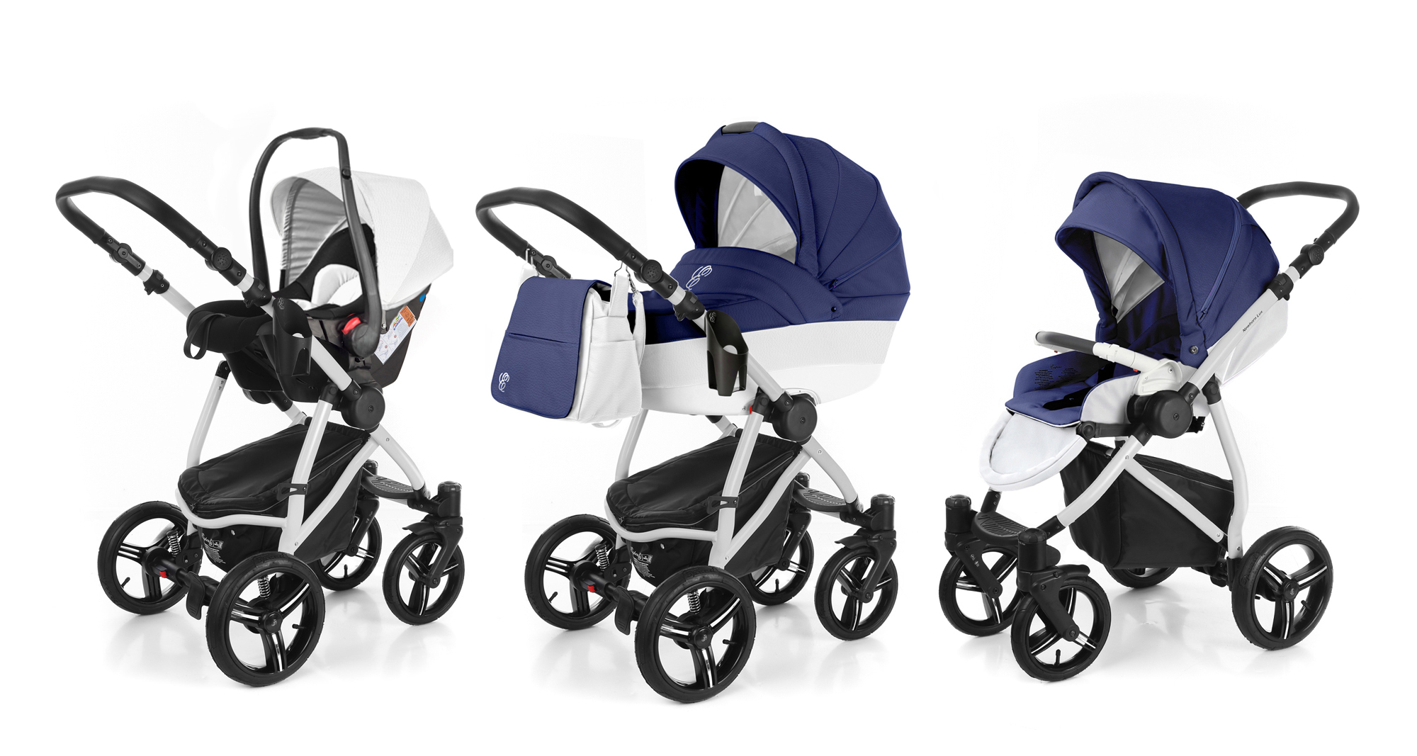 Коляска 3 в 1 Esspero Grand Newborn Lux (шасси Grey). Фото N4