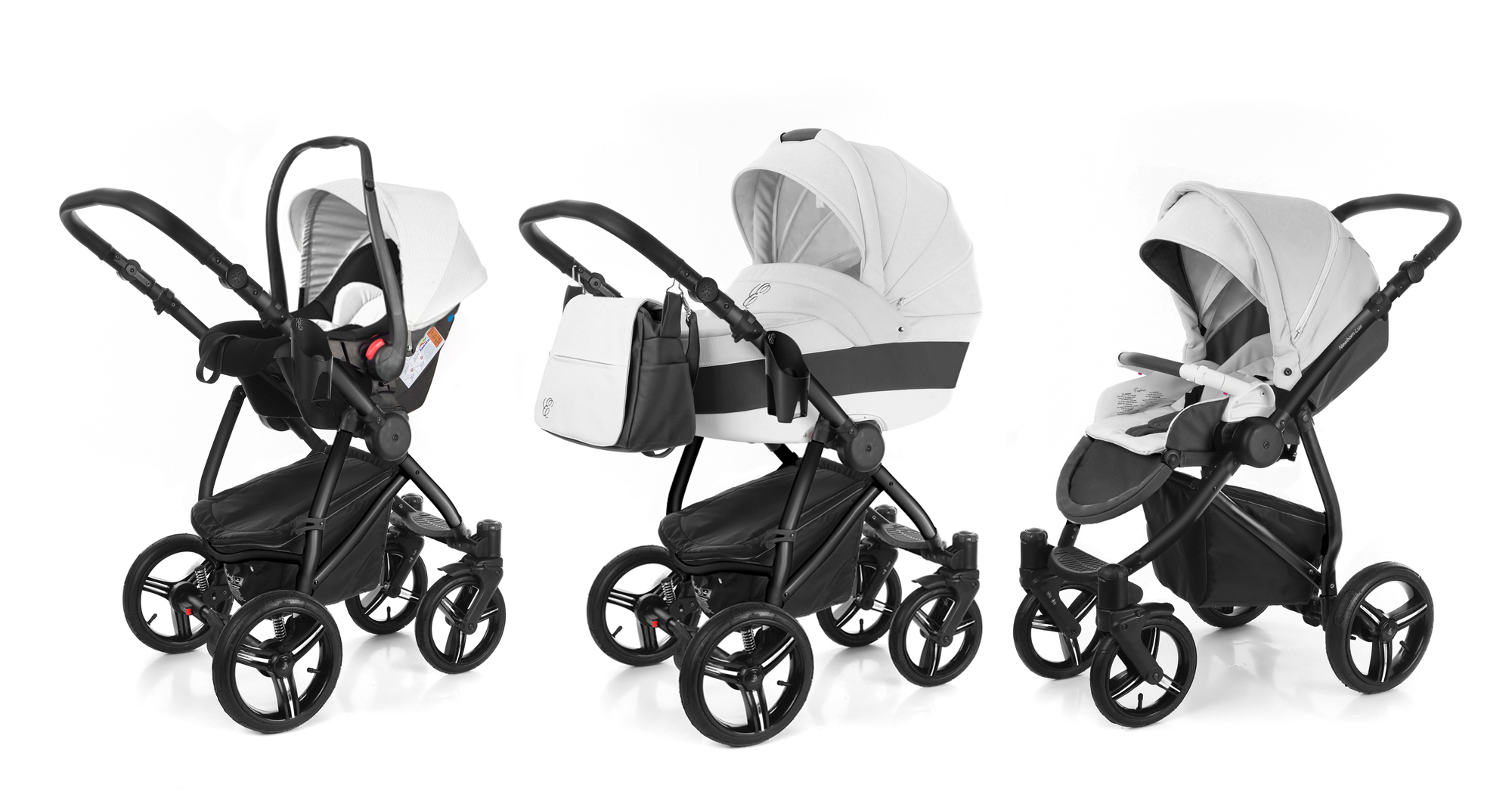 Коляска 3 в 1 Esspero Grand Newborn Lux (шасси Black). Фото N2