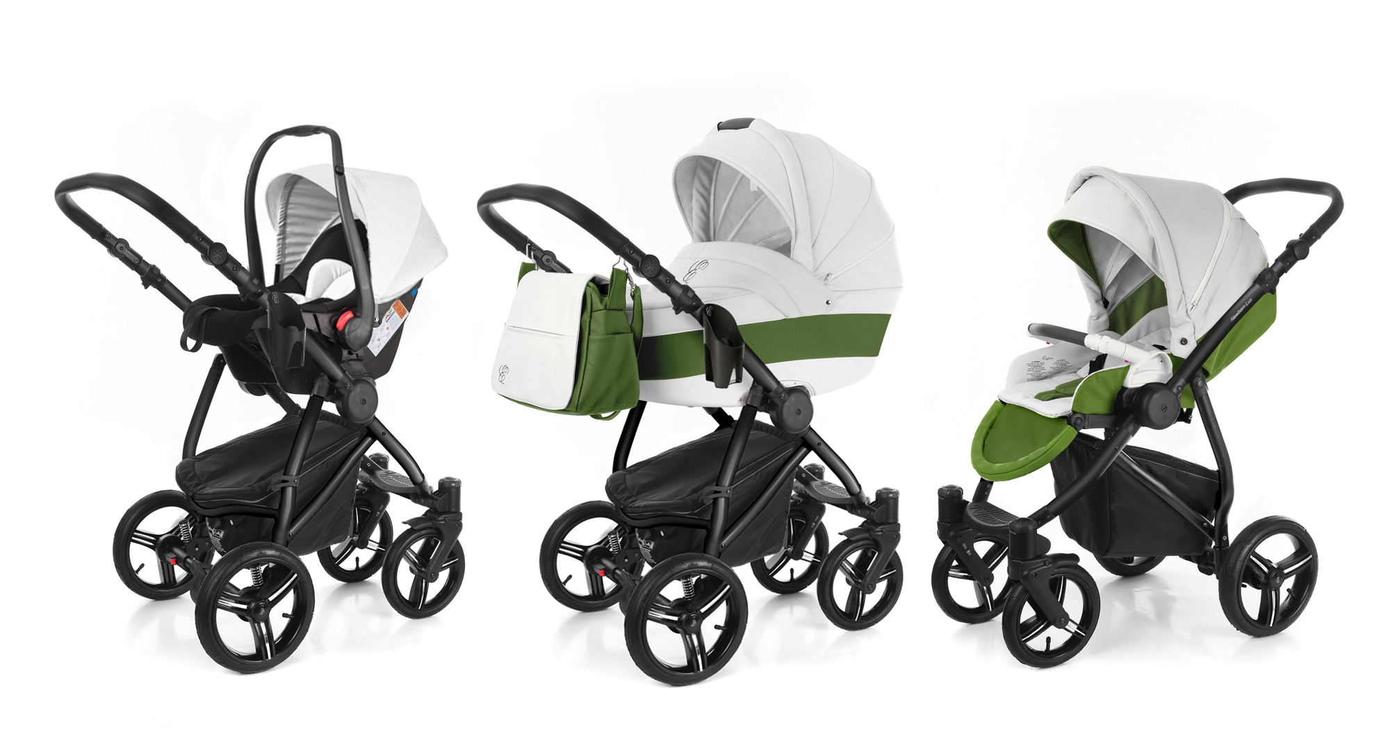 Коляска 3 в 1 Esspero Grand Newborn Lux (шасси Black). Фото N11
