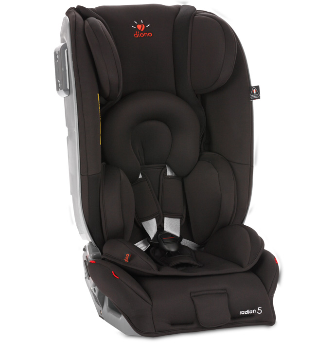 Автокресло Diono Radian 5 Midnight Black