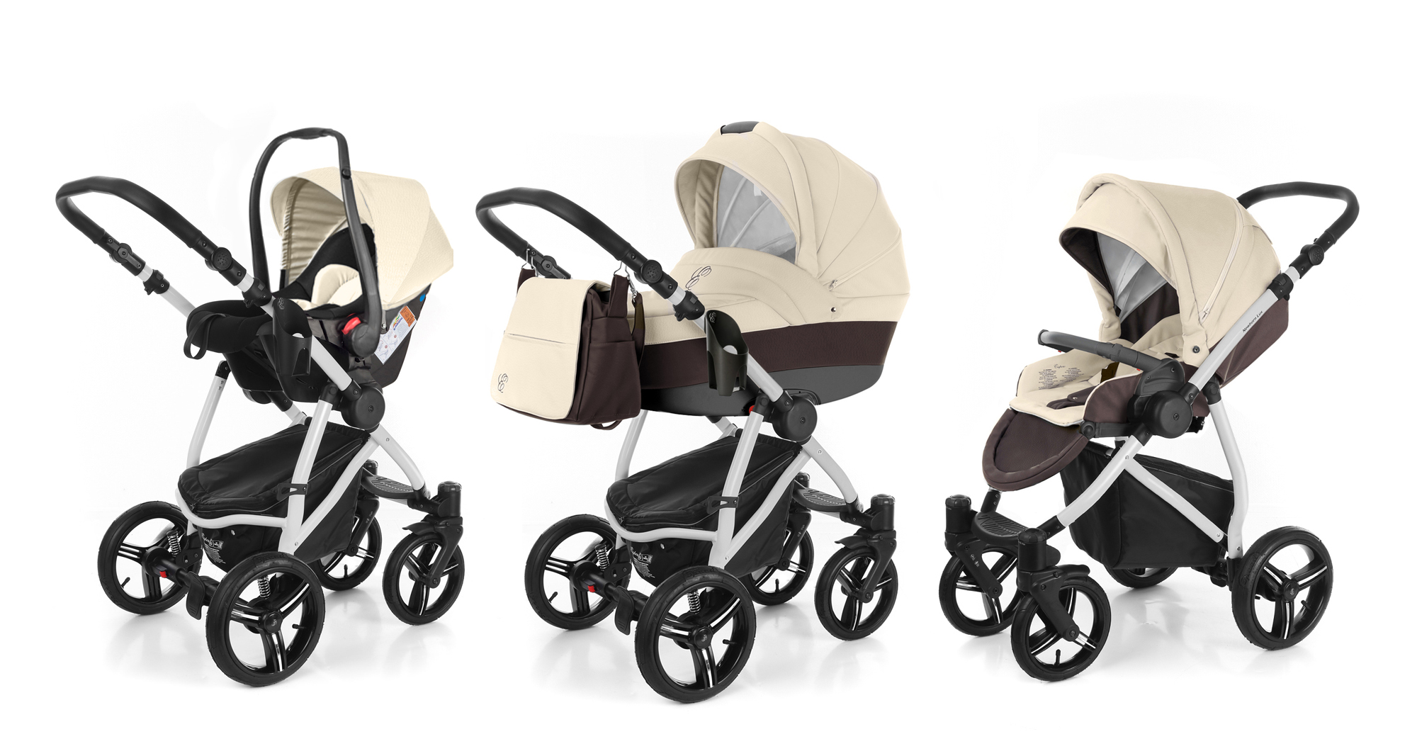 Коляска 3 в 1 Esspero Grand Newborn Lux (шасси Grey). Фото N9