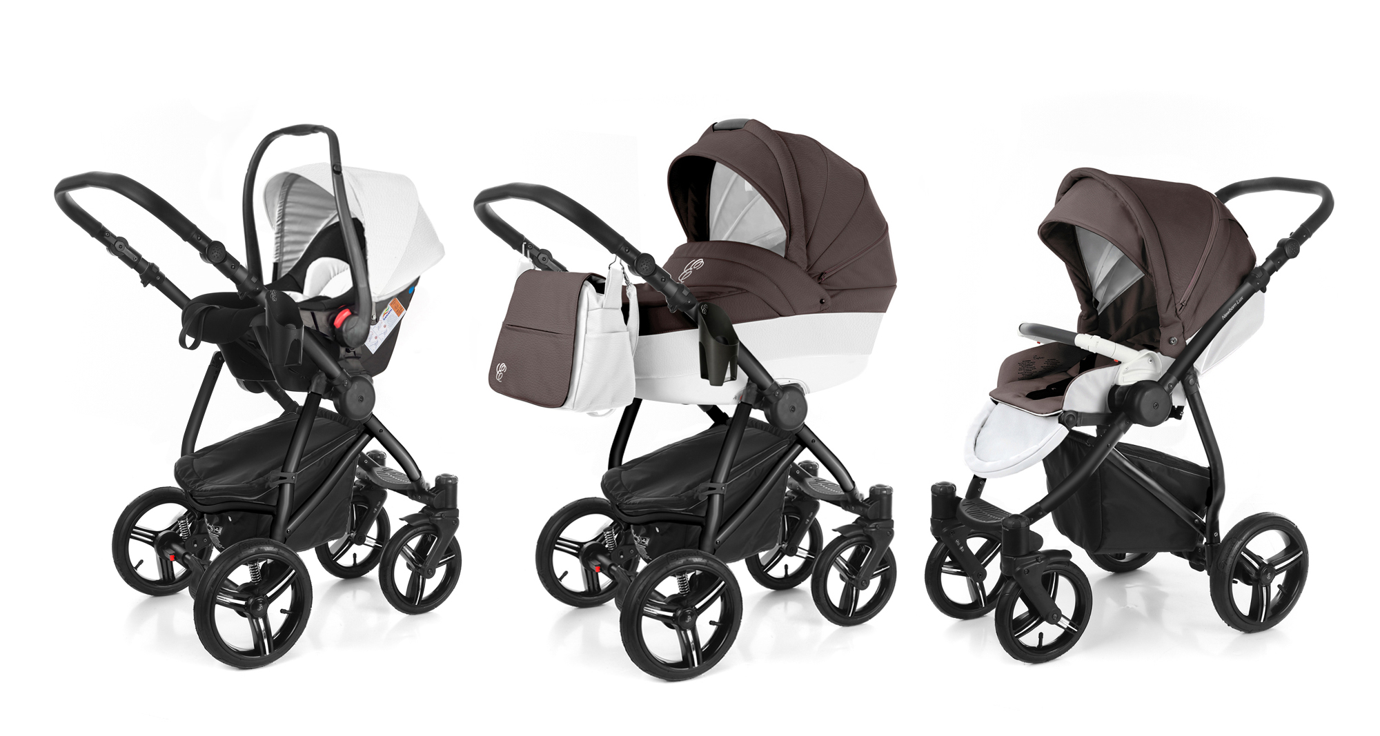 Коляска 3 в 1 Esspero Grand Newborn Lux (шасси Black). Фото N8