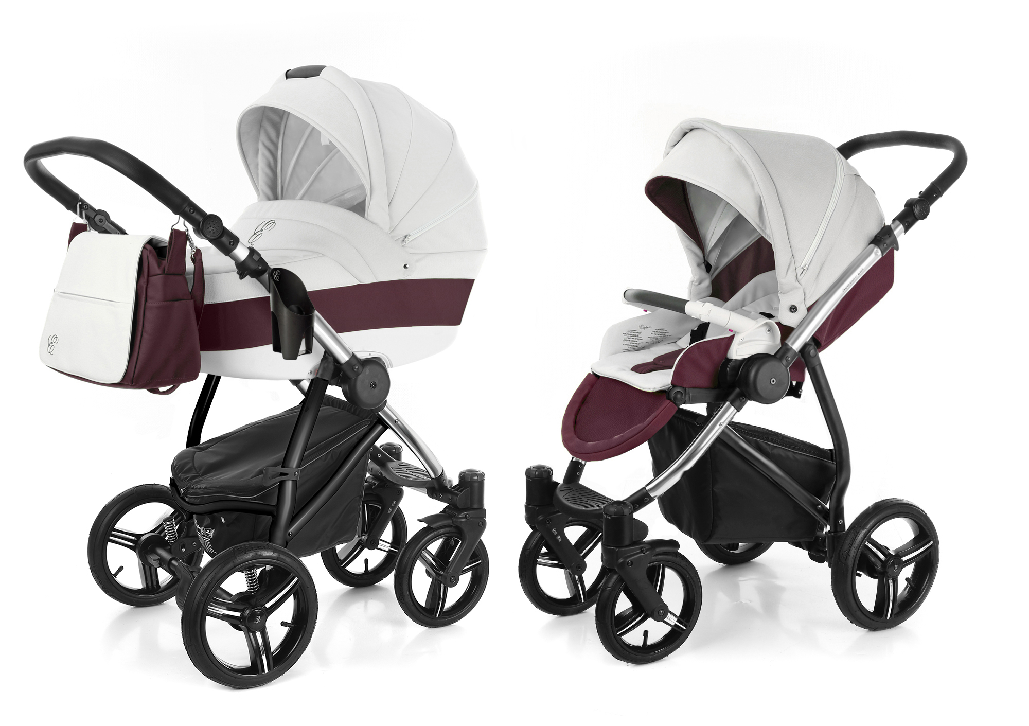 Коляска 2 в 1 Esspero Grand Newborn Lux (шасси Chrome). Фото N5