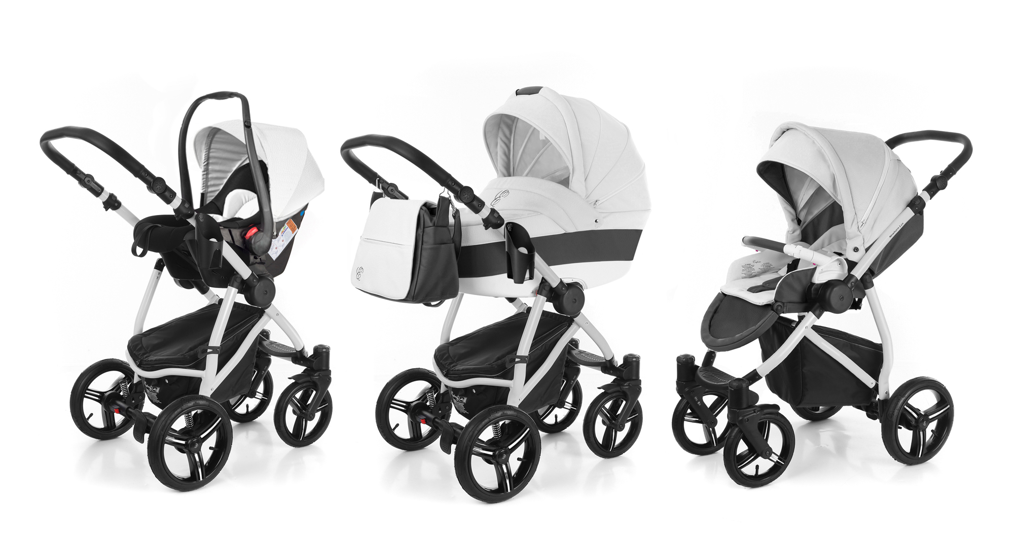 Коляска 3 в 1 Esspero Grand Newborn Lux (шасси Grey). Фото N2