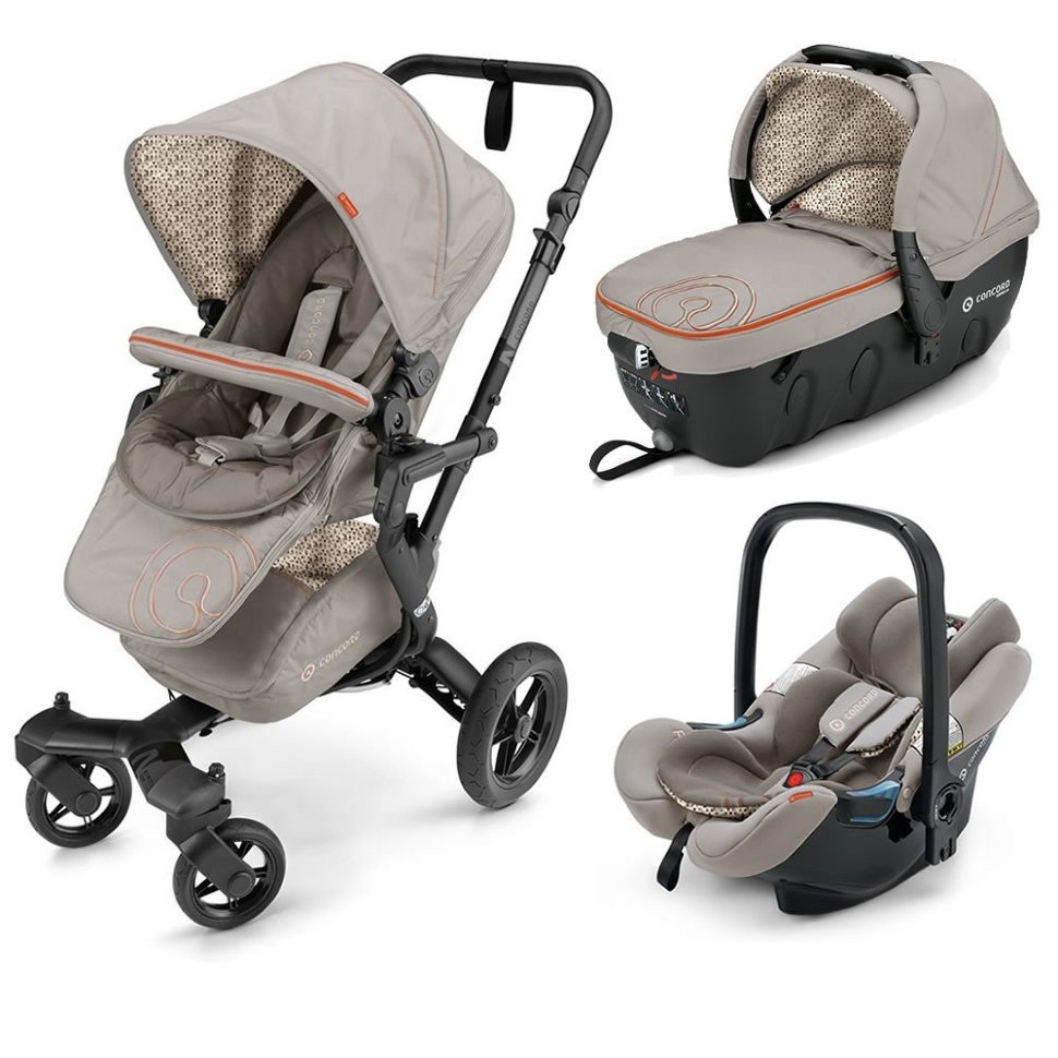 Коляска Concord Neo Travel Set 3 в 1 Cool Beige 2016