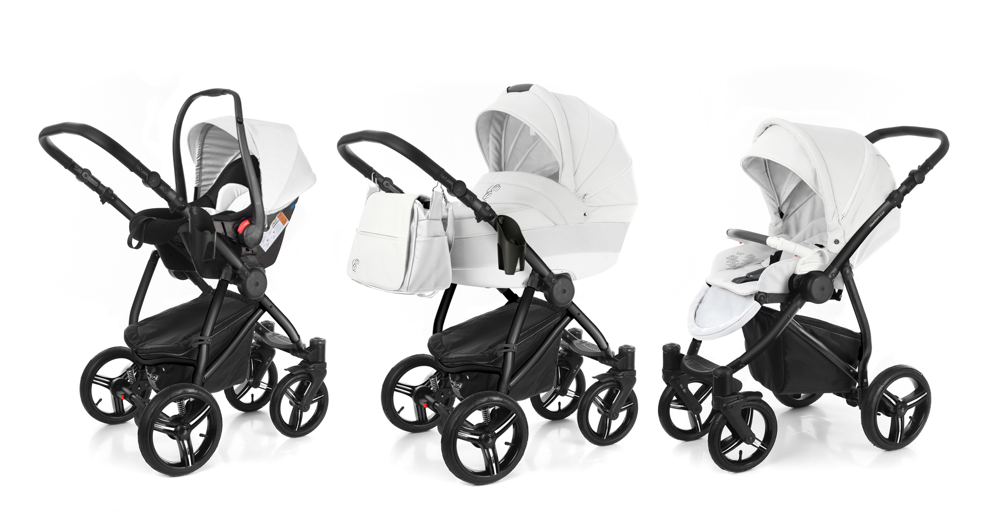 Коляска 3 в 1 Esspero Grand Newborn Lux (шасси Black). Фото N10