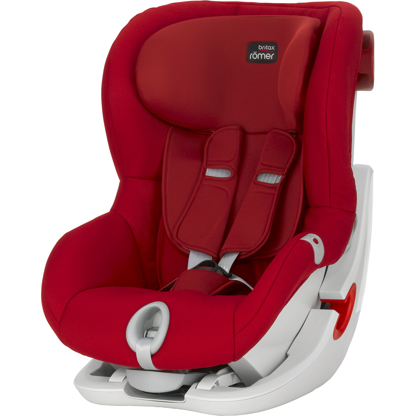 Автокресло Britax Roemer King II Flame Red Trendline
