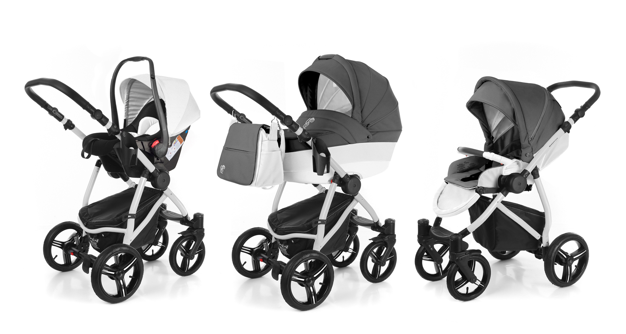 Коляска 3 в 1 Esspero Grand Newborn Lux (шасси Grey). Фото N6