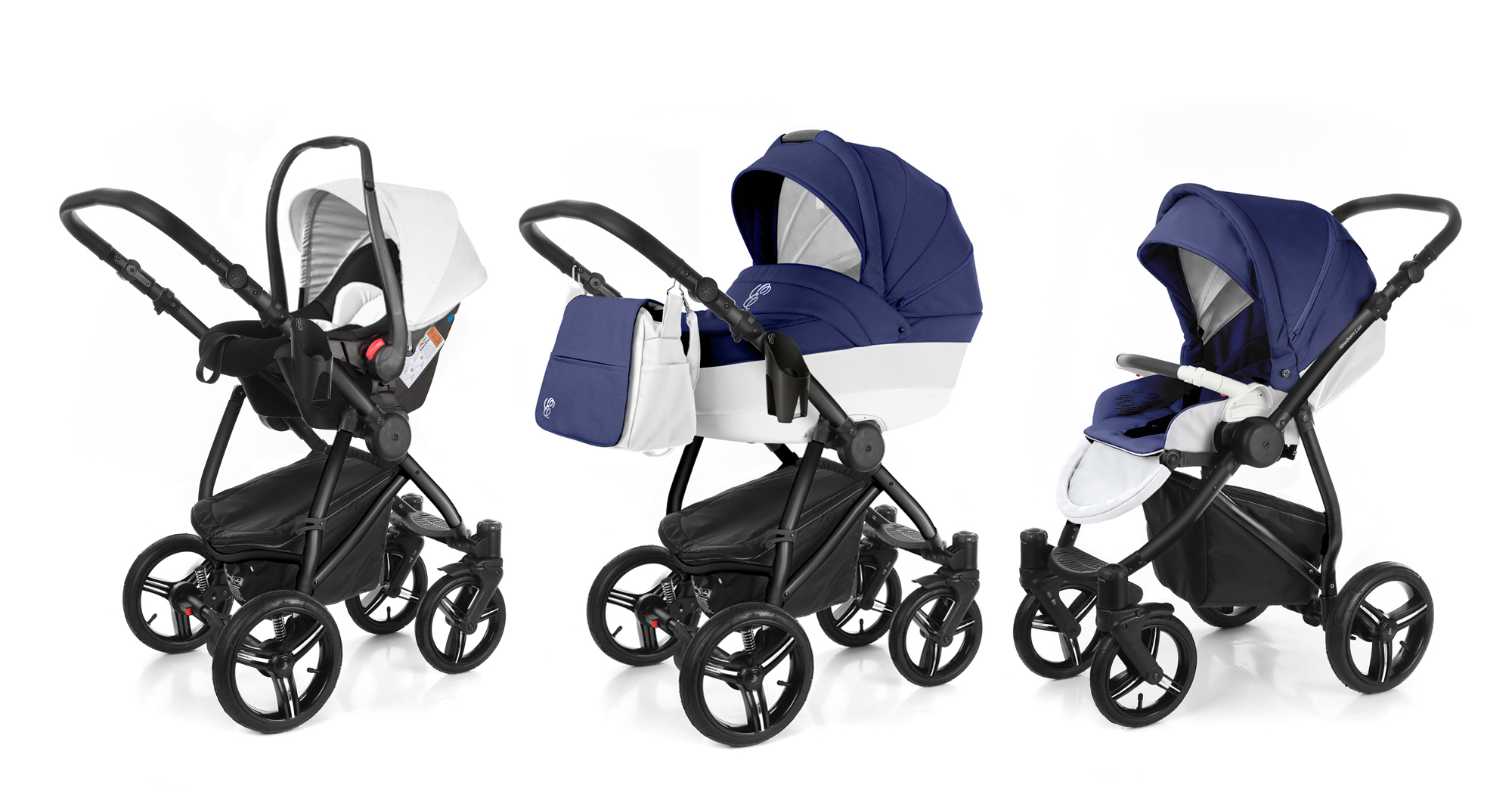 Коляска 3 в 1 Esspero Grand Newborn Lux (шасси Black). Фото N4