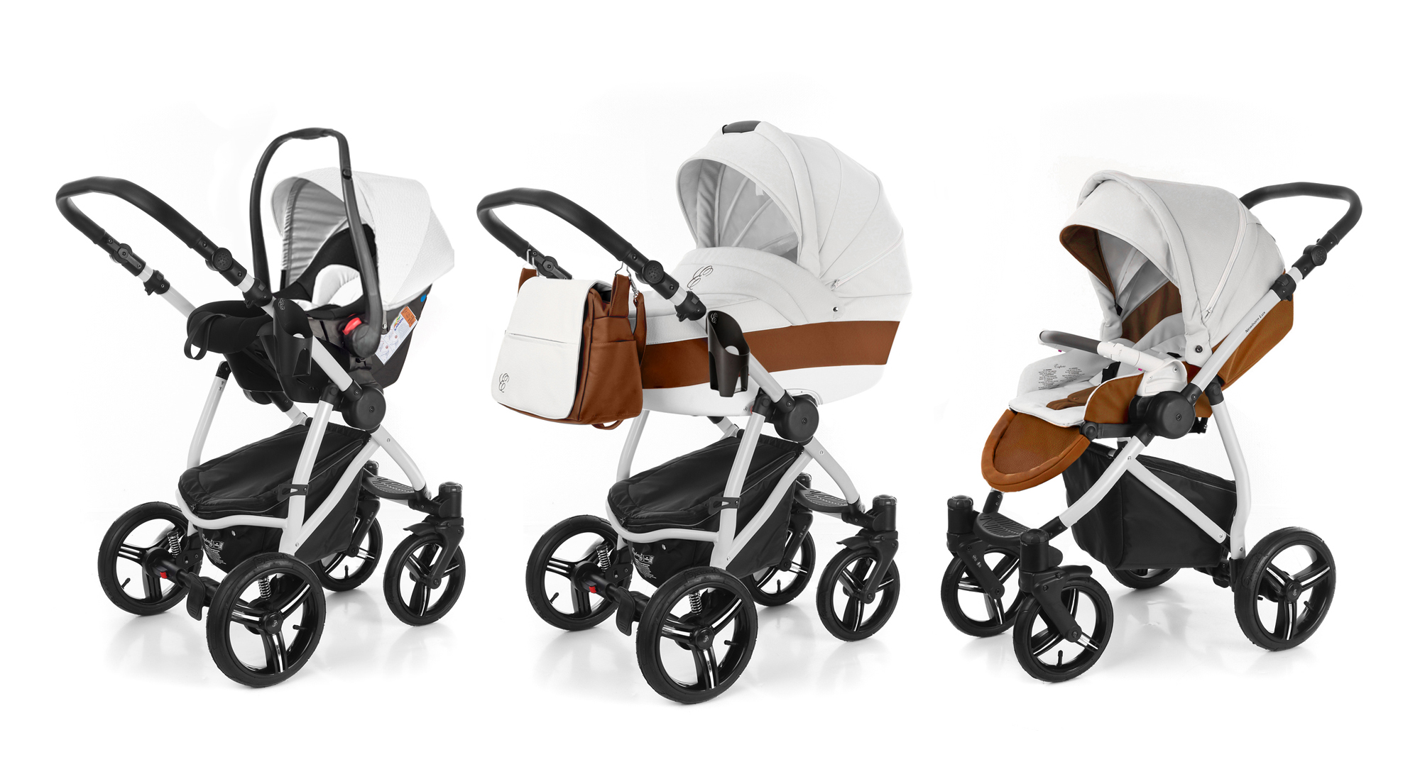 Коляска 3 в 1 Esspero Grand Newborn Lux (шасси Grey). Фото N3