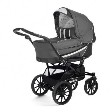 Коляска 2 в 1 Emmaljunga Edge Duo Combi Dark Grey
