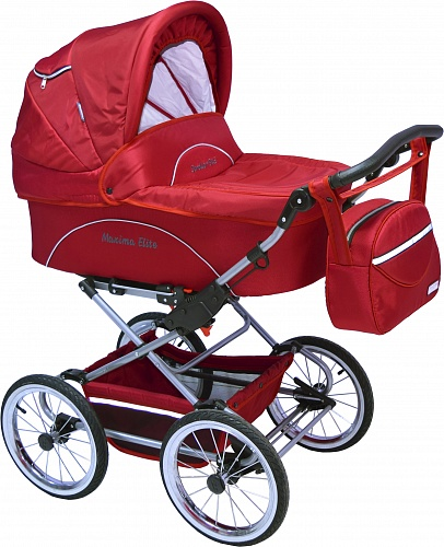 Коляска 2 в 1 Maxima ELITE XL №116 Red
