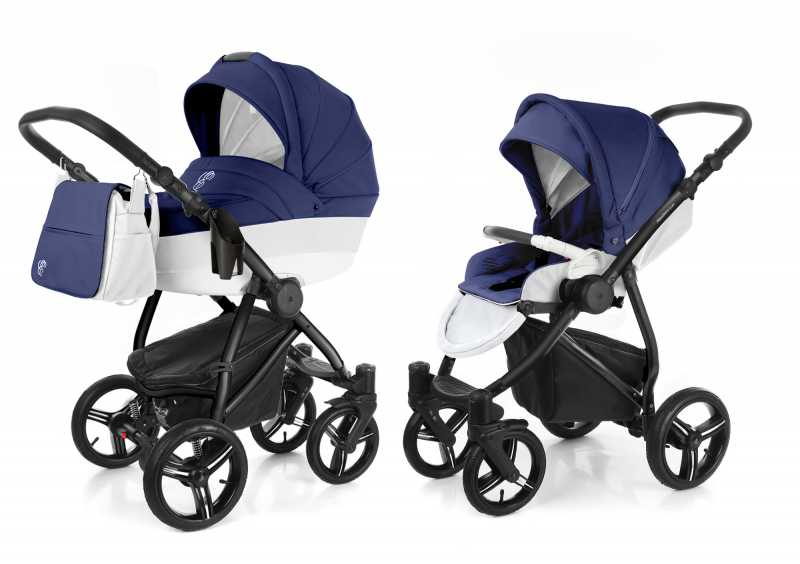 Коляска 2 в 1 Esspero Grand Newborn Lux (шасси Black)