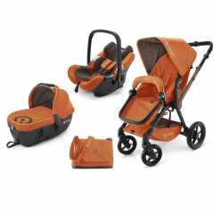 Коляска Concord Wanderer Travel Set (3 в 1) Rusty Orange 2015