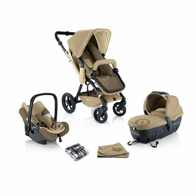 Коляска Concord Wanderer Travel Set (3 в 1) Honey Beige 2014