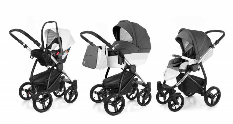 Коляска 3 в 1 Esspero Grand Newborn Lux (шасси Chrome)