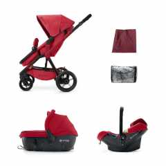 Коляска Concord Wanderer Travel Set (3 в 1) Ruby Red 2015