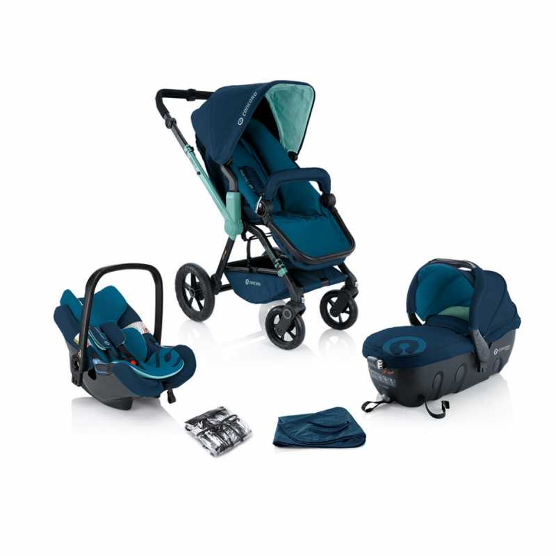 Коляска Concord Wanderer Travel Set (3 в 1) Aqua Blue 2014